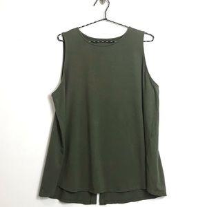 JJill Luxe Supima sleeveless top XL